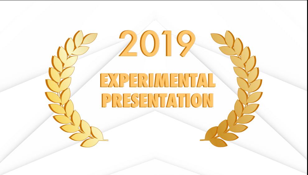 Experimental Presentation Award